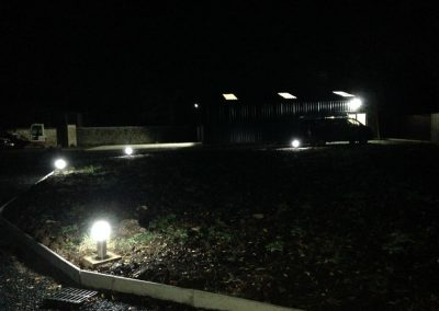 Commercial & Industrial Electrical Outdoor Lighting Installations Northern Ireland